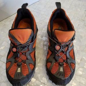 MERRELL Overdrive II Orange Hiking 8M